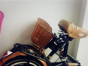 折叠自行车 全新一次没用过 方便携带  本县的自提 500多买的 300就卖 特便宜