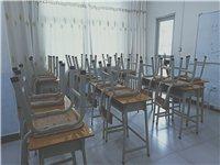 现有课桌椅单人单桌九成新转让