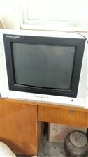 21寸电视机  100块拿走,图像清晰,一点毛病没有 15864089468   莱阳市里可以送货
