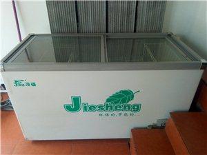 一台保鲜柜,一台冰柜八成新