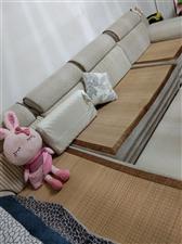 家里换实木家具,现超低价出售右贵妃沙发一套,用了2年