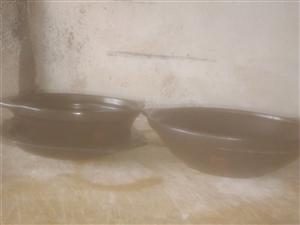 大、小防爆防裂砂锅和托盘,全部处理,价格美丽,有需要的15269466362