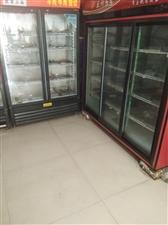 两个冷藏柜,一大一小1500元处理