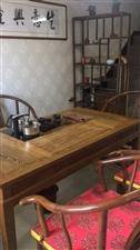茶几七整件套,五把椅子一个柜子一张茶桌,原价9800,2018年二月份买的,用了不到半年。茶桌160...