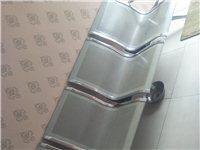四座的金属长条椅,绝对结实耐用