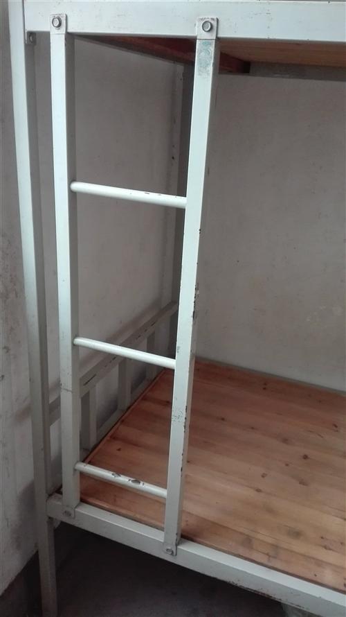 双层铁架床,厚实,九成新