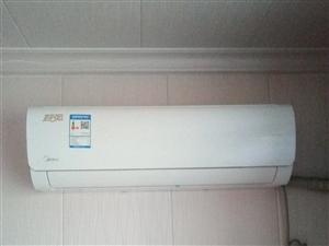 出售全新美的空调一台,1.5的原价2900买的因为感觉挂机不好看现想卖掉。才安装半个月只开过2次。现...