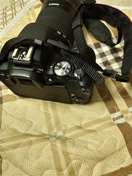 佳能入门级200D单反相机加55-250镜头套机转让,7月初买的,现在基本用不到了,不想浪费好机器,...