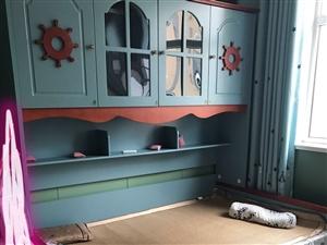 这是在网上购的地中海风格的儿童床,刚买了一个多月,3000多要的,实物如照片一样,母子带拖床的~合着...