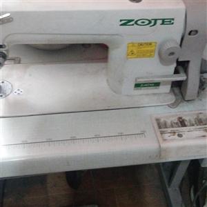 17年中捷牌电动缝纫机,买回来用了一星期就不用了