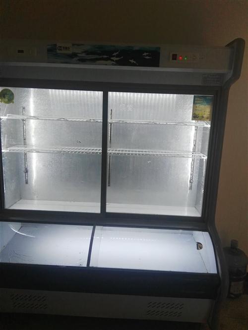 出售一台大冰柜,一台点菜柜15212827960