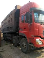 东风大力神小四桥出售,375发动机,16挡变速箱,长7.2米,重皮轮边桥13948830321