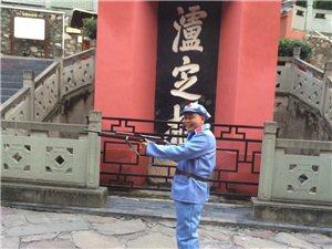 大渡桥横铁索寒,重温当年的战争岁月