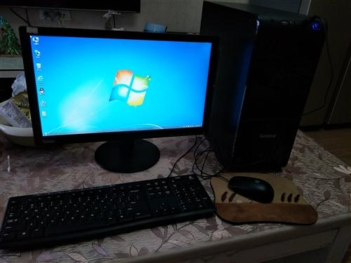 9成新电脑整套出售,电脑主机一台,显示器一台,鼠标键盘一套,cpu英特尔i3-3220.   带独立...