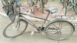 西农南校区:二手自行车,8成新,带筐、铃铛、后座、车锁、打气筒,
