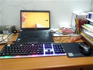东芝笔记本电脑600块  50块内可刀,微信电话同号码,配置看图,送键盘鼠标