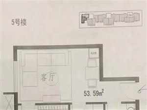 西苑华庭1室1厅1卫45万元