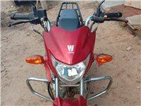 豪爵125.新买的骑了3000公里9成新大摩托,捡便宜的来。