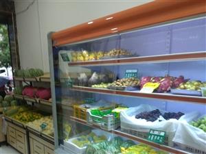 点菜柜低价转让点菜柜和水果台面打包一起5000元