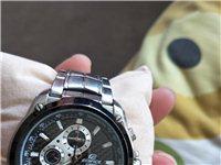 卡西欧男款手表,什么型号的,我不记得了。去年六月份买的。因为和男友分手了,不想留着了,所以想卖掉。有...