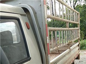 福田驴菱单排座双轮敞篷货车