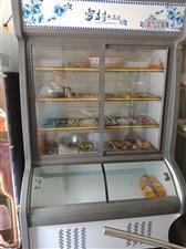 9.99新点菜柜,展示柜,买了用了不到一个月,要换另一个柜子,