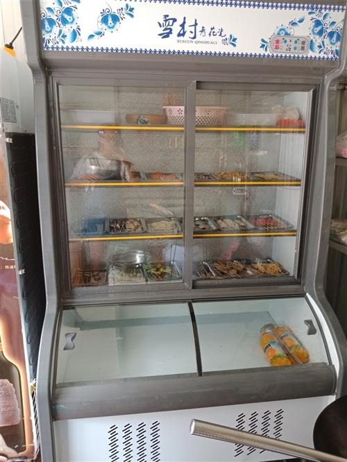 9.99新點菜柜,展示柜,買了用了不到一個月,要換另一個柜子,