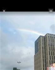 时隔8年,又一次看到彩虹
