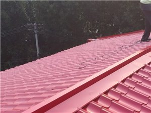 专业搭彩钢厂房彩钢房顶活动板房封防护网