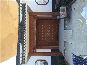 古建木质大门