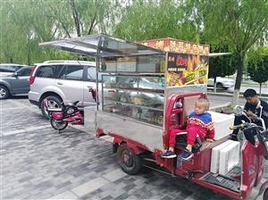 九成新烧烤车出售,因本人去外地,现在无法打理   可带关东煮  有意的与我联系