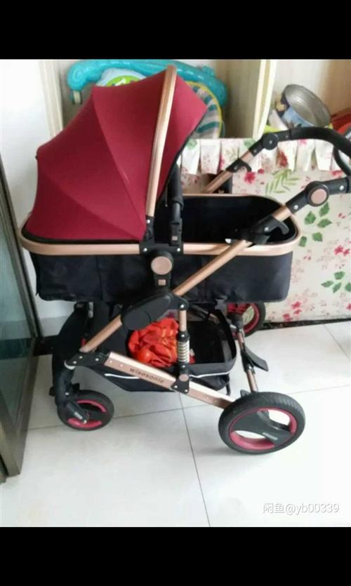 高觀嬰兒車 比較新的  便宜賣了