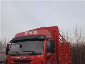 解放龙VH全新,220马力6.8高栏,18年1月份上牌,三万公里