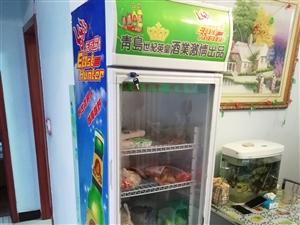 放饮料蔬菜的冷藏柜 自己家里闲着的,冷藏柜,功能正常,门子外面的玻璃少了一层,现在放到家里没地方了搁...