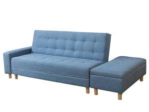 本人有一套沙发床出售,适合在住人的车库放,平时是沙发,休闲的时候可以把后背放下去当床睡很方便的,用了...