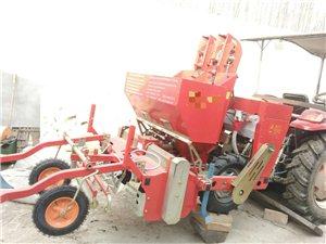 土豆收货播种机