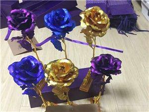 情人節金箔玫瑰