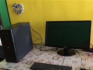 低价转让独显四核高配台式电脑