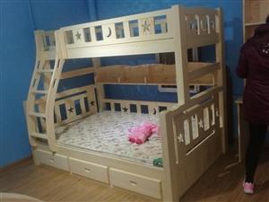 纯实木儿童床,