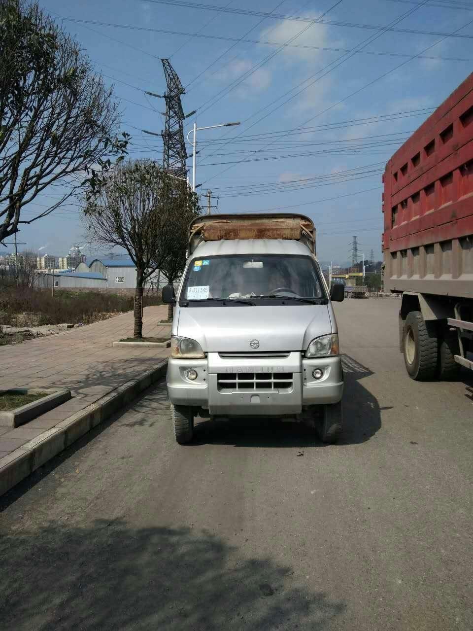 低價處理歐曼廂式貨車