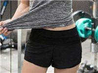 瑜伽運動短褲