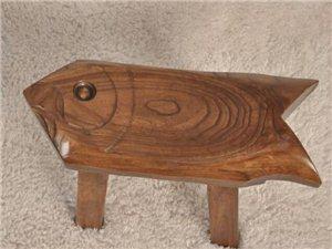 榆木家用浴室凳餐桌凳儿童矮凳