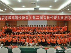 红心向党。峡江微马队参加吉安市微马跑步协会第二届会员代表会议纪实。