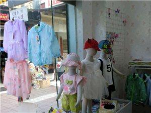 童装店货架,衣架处理
