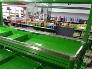 全新长1.8米水果蔬菜不锈钢边货架