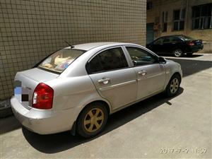 09年北京现代雅绅特,9万公里