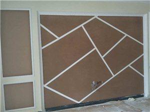 专业承接各种类型硅藻泥电视墙,硅藻泥全屋装修