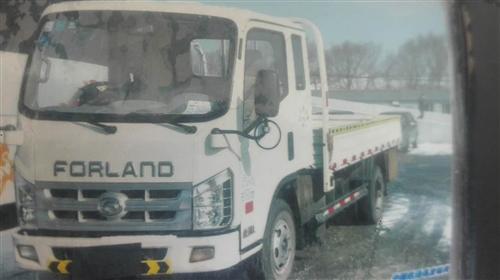 卖一排半白色小货车,车厢长三米八五
