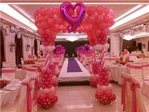 彩球装饰,长期承接婚礼现场布置,生日宴会,车展,商场店庆