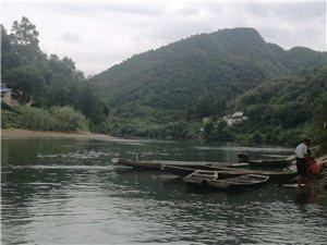 处暑后恬静的卡乌药谷江村寨脚